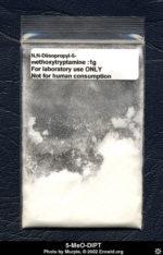 High purity bag of Afbeeldingsresultaat voor 5-MeO-DiPT @ ChemicalBrothers.nl