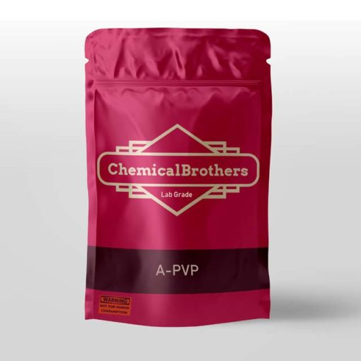 High purity bag of A-PVP / APVP / Alpha PVP @ ChemicalBrothers.nl